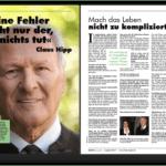 Prof. Dr. Claus Hipp: Keine Fehler macht nur der, der nichts tut