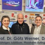 Prof. Dr. Götz Werner, DM Gründer & Inhaber • Bedingungsloses Grundeinkommen: Lebendiges Denken und Lebensgefühl