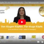 Stuttgarter Köpfe 25. Jubel-Veranstaltung • Das Miteinander zählt