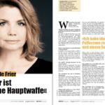 Annette Frier: Humor ist meine Hauptwaffe