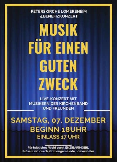 Benefiz Konzert für Madeleine & SMA