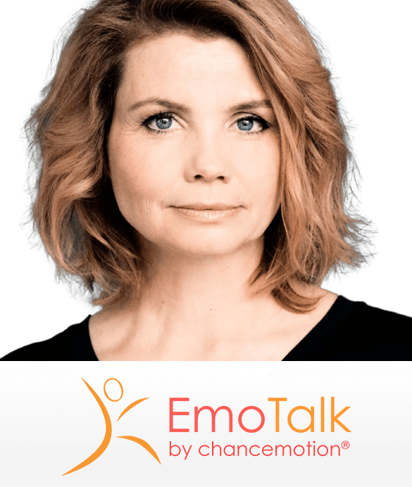 Annette Frier über Emotionsmanagement im EmoTalk bei chancemotion von Carmen Uth