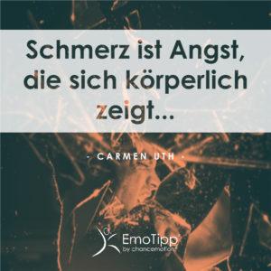 chancemotion EmoTipp - Schmerz ist Angst, die sich körperlich zeigt