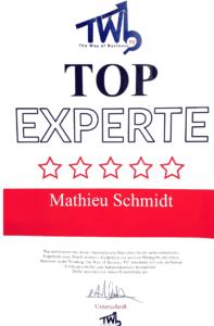 Mathieu Schmidt Top Experte