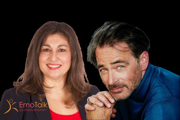 Der Schauspieler Jan Sosniok im EmoTalk mit der EmotionsExpertin Carmen Uth