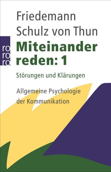 Buchempfehlung EmoTalk - Friedmann Schulz von Thun, Miteinander reden - chancemotion Academy Bibliothek