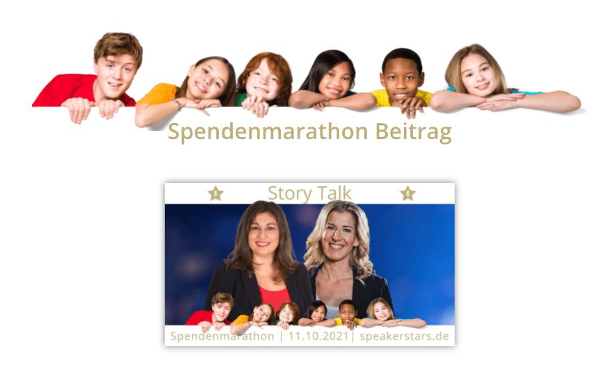 Katja Kaden interviewt Carmen Uth im Speakerstars Allianz Spendenmarathon